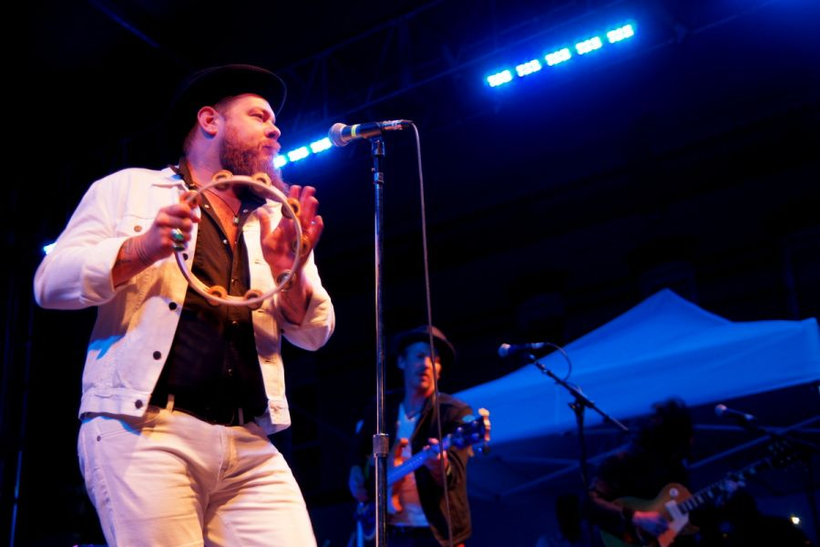 Nathaniel Rateliff & The Night Sweats were one of the many musical acts to perform at Denver's first annual Project Pabst.