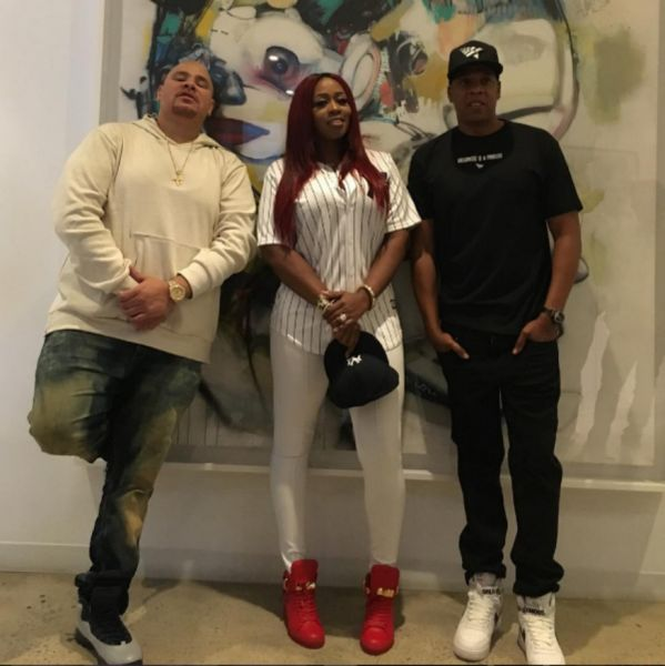 Jay responded to 'Lemonade' on a remix with Fat Joe and Remy Ma