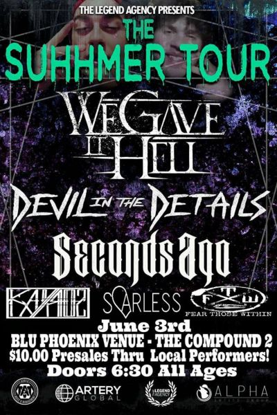 We Gave It Hell and more perform at Albuquerque's Blu Phoenix on June 3.