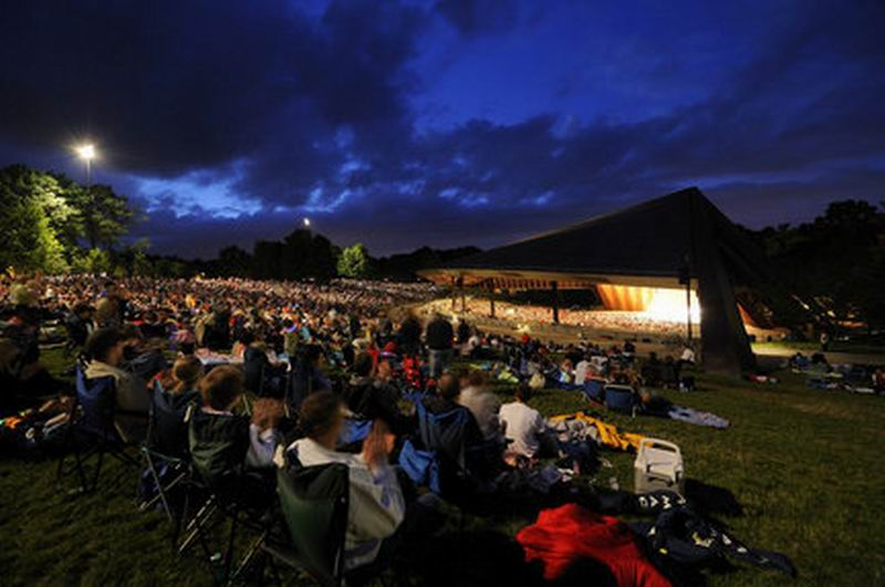 Rock and Roll meets Classical under the stars at Blossom this summer.