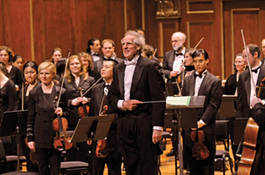 Renowned conductor Benjamin Zander talks finale season show and more