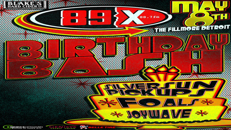 89x 2016 Birthday Bash at The Fillmore Detroit