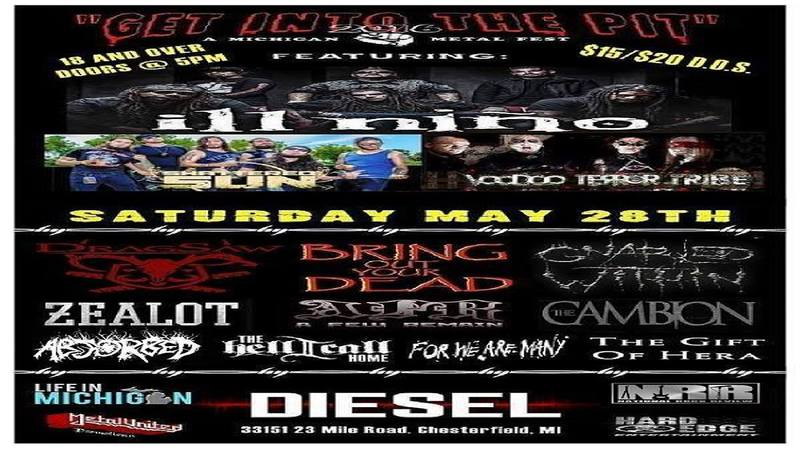 Get Into The Pit 2016 at Diesel Concert Lounge