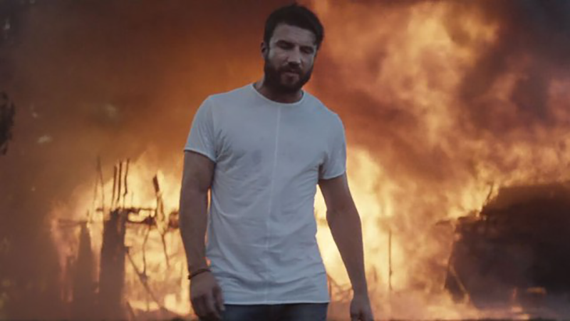 "Sam Hunt's ""Break Up in a Small Town"" is up for Video of the Year at the 2016 CMT Music Awards."