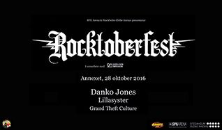 Rocktoberfest tickets at Annexet in Stockholm