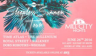Time Atlas tickets at Mill City Nights in Minneapolis