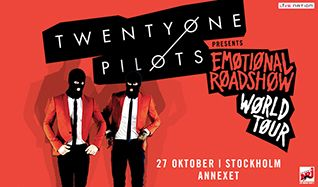 Twenty One Pilots tickets at Annexet in Stockholm