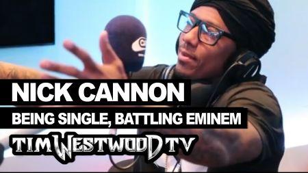 Nick Cannon challenges Eminem to a $100k rap battle