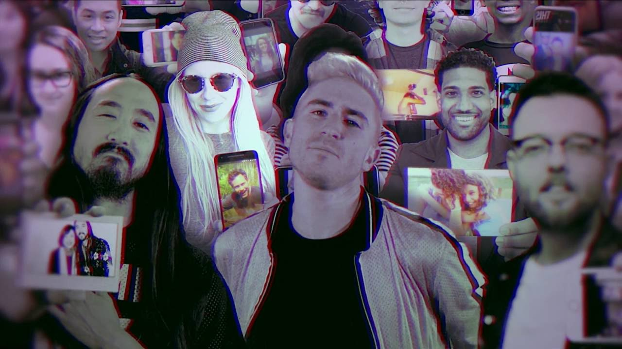 Steve Aoki and Boehm premiere colorful video for 'Back 2 U' with Walk the Moon