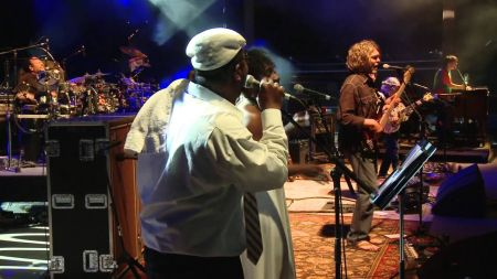 The String Cheese Incident set for their perennial three-night run at Red Rocks