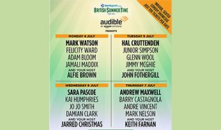 Audible Presents Comedy Showcase: Hal Cruttenden tickets at Hyde Park in London