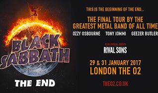 Black Sabbath tickets at The O2 in London