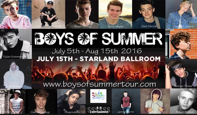 Boys Of Summer tickets at Starland Ballroom in Sayreville