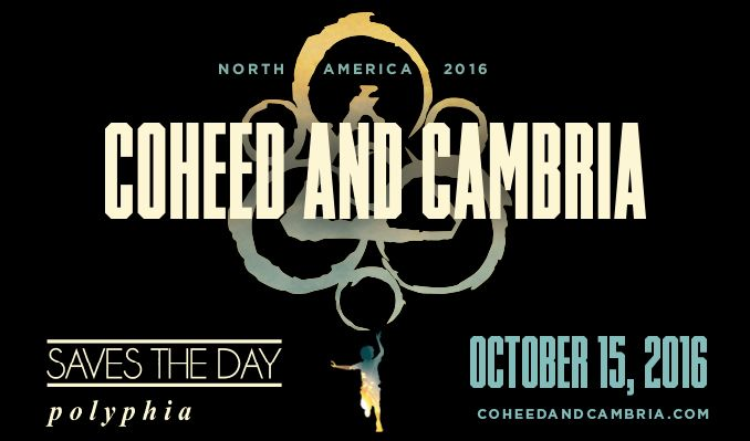 Coheed and Cambria tickets at Starland Ballroom in Sayreville