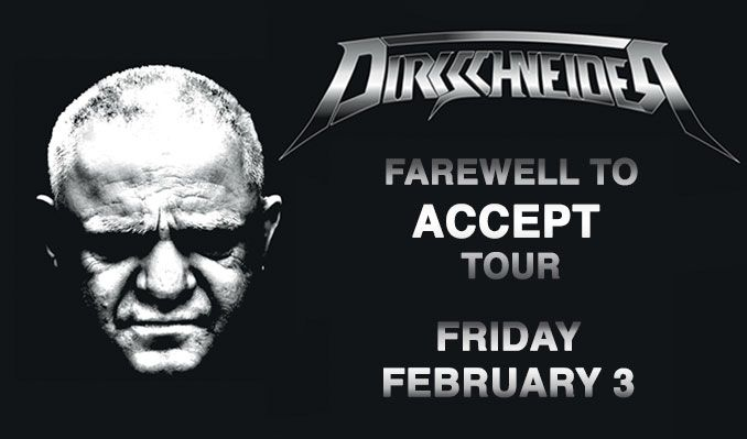 Dirkschneider tickets at Starland Ballroom in Sayreville