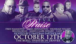 Festival of Praise tickets at Temple Hoyne Buell Theatre in Denver