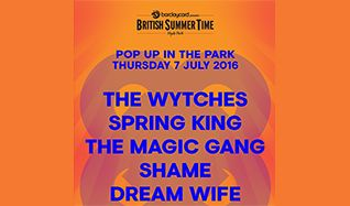 Goldenvoice Pop Up In The Park tickets at Hyde Park in London