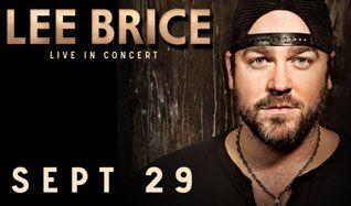 Lee Brice tickets at Starland Ballroom in Sayreville