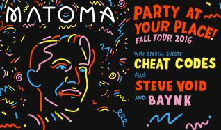 MATOMA tickets at Mill City Nights in Minneapolis