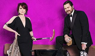 Nick Offerman & Megan Mullally tickets at Eventim Apollo in London