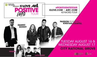 Positive Hits Tour Featuring: Passion, Danny Gokey, Capital Kings, Hollyn tickets at City National Grove of Anaheim in Anaheim