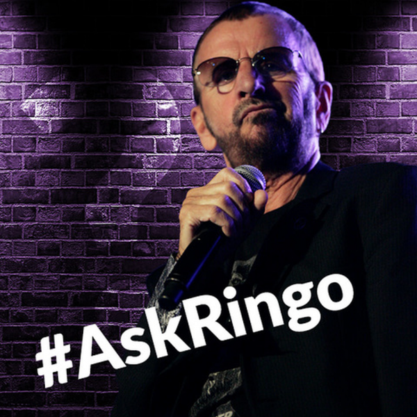 This week, you have a chance to ask Ringo Starr a question.