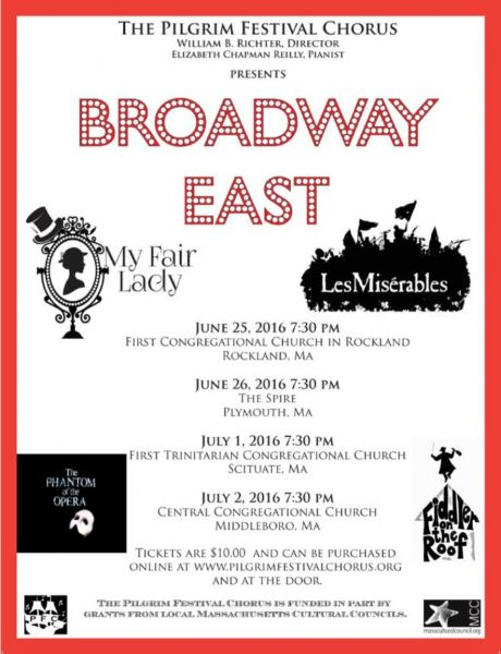 "See 'Broadway East"" in four locations around Massachusetts!"