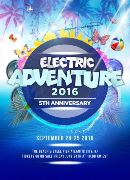 Electric Adventure will be over the weekend of September 24-25 in Atlantic City.