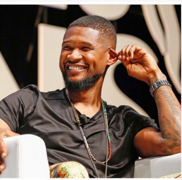 Usher donned a political message on his BET Awards performance outfit.