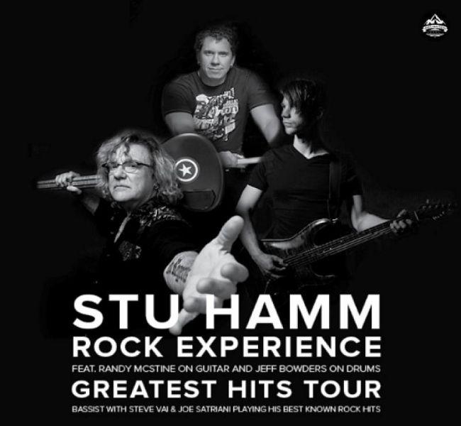 Stu Hamm tour poster