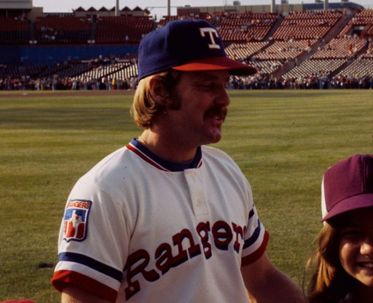 Toby Harrah was one of the first real stars for the Texas Rangers in the 1970s.