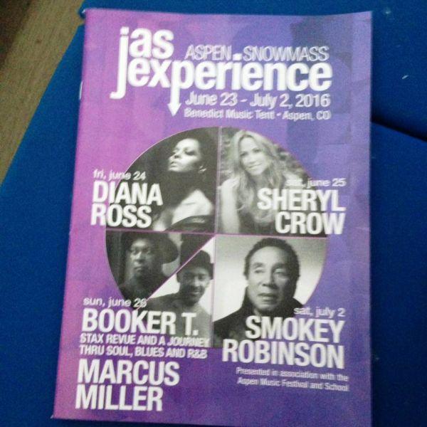 JAS featured Diana Ross, Sheryl Crow, Marcus Miller, Booker T.
