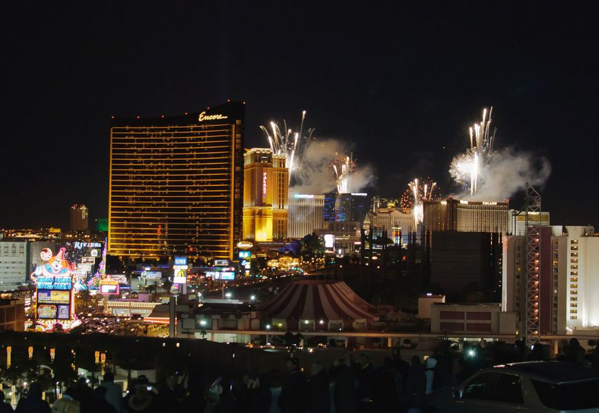 Las Vegas will host several fireworks shows to celebrate the fourth of July.