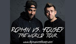 Roman Vs Fousey tickets at Eventim Apollo, London