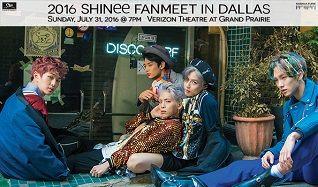 SHINee tickets at Verizon Theatre at Grand Prairie in Grand Prairie