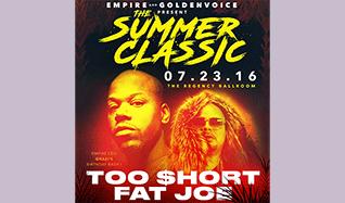 Too $hort, Fat Joe tickets at The Regency Ballroom in San Francisco