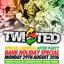Twisted - Carnival Party tickets at indigo at The O2 in London