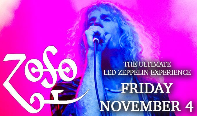 ZOSO (The Ultimate Led Zeppelin Experience) tickets at Starland Ballroom in Sayreville