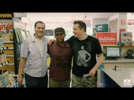 Atmosphere and Sway prepare for a hip-hop fishing trip in new video series