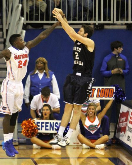 Beau Beech is the first player from UNF to sign an NBA contract.