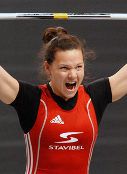 Girard could see her Olympic weightlifting medal upgraded to gold