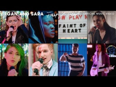 Tegan and Sara salute music legends, champion rising stars in new music video