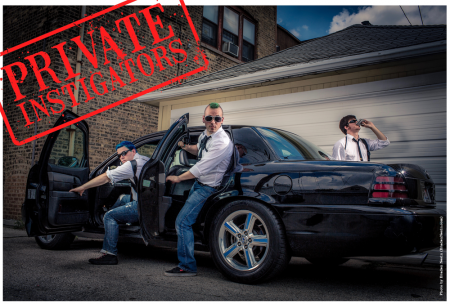 Profile on Private Instigators - 'doo wop punks' hired to start something
