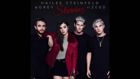 Hailee Steinfeld teams up with Grey and Zedd for 'Starving'
