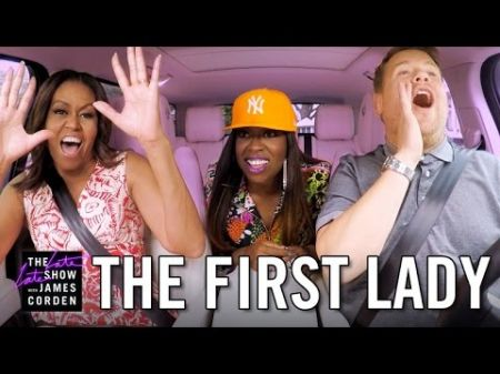 Watch: Michelle Obama confirms she's the coolest on 'Carpool Karaoke'