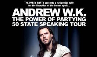 An Evening With Andrew W.K. tickets at Gothic Theatre in Englewood