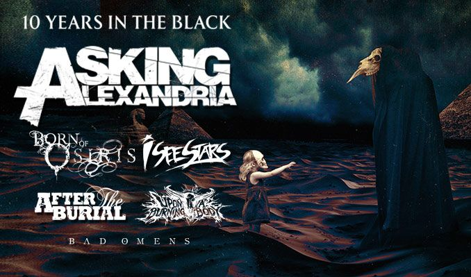 Asking Alexandria tickets at Rams Head Live! in Baltimore