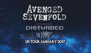 Avenged Sevenfold tickets at The O2 in London