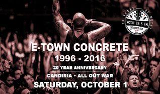 E-Town Concrete 20th Anniversary tickets at Starland Ballroom in Sayreville