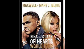 Maxwell & Mary J. Blige tickets at Annexet in Stockholm